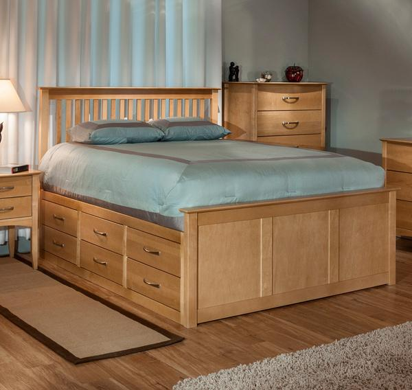 Queen Storage Bed | Cardi's Furniture & Mattresses