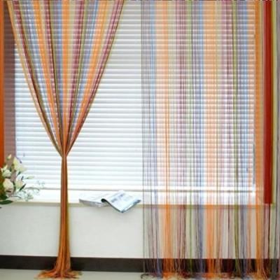 Multi Coloured String Curtains (colour string curtains, fringe