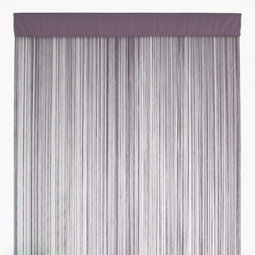 Light Grey String Curtains Fringe Curtain Panel For Home Decoration