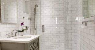 White Subway Tile Bathroom Ideas | Houzz