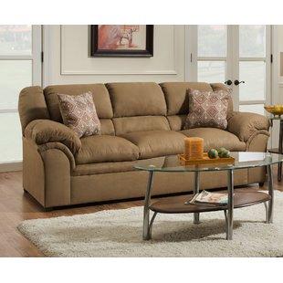 Microfiber Suede Sofa | Wayfair