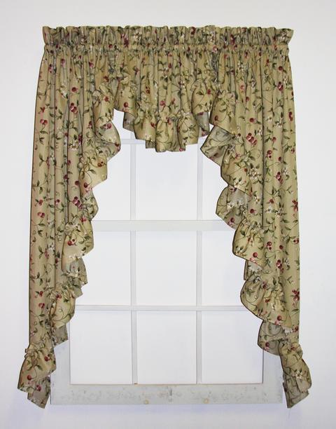 Swag Curtains, Swags Window Curtains & Window Treatments u2013 Window