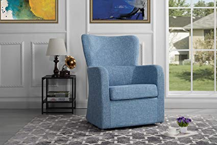 Amazon.com: Modern Swivel Armchair, Rotating Accent Chair for Living
