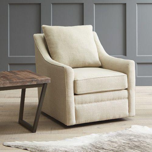 Found it at Wayfair - Quincy Swivel Chair | Swivel Chair | Pinterest
