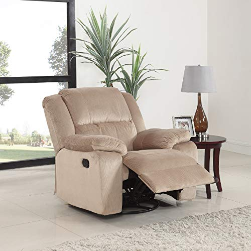 Swivel Recliner Chairs for Living Room: Amazon.com