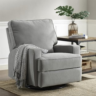 Get comfortable in the swivel recliner   chairs for living room
