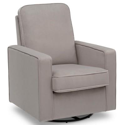 Delta Children Landry Nursery Glider Swivel Rocker Chair - Cloudy