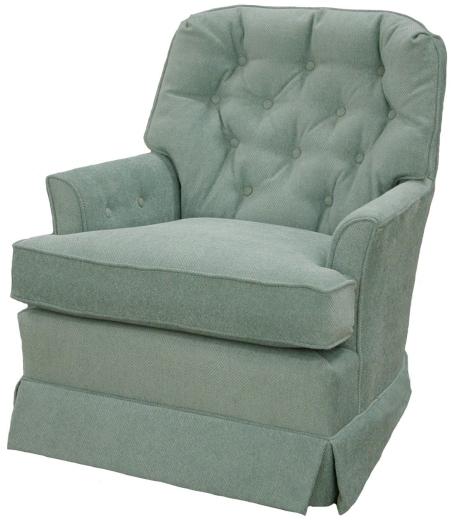 O'Hara Swivel Rocker Chair Custom American furniture made in USA