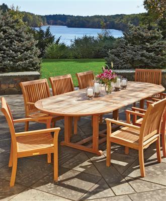 Teak Outdoor Furniture from Walpole Woodworkers