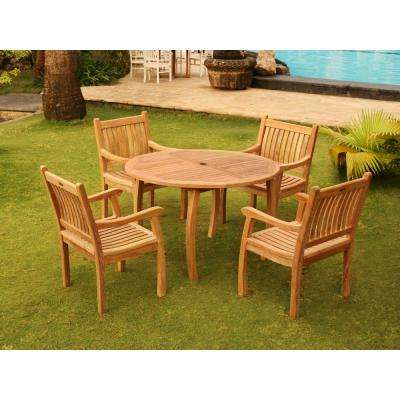 Teak - Patio Dining Furniture - Patio Furniture - The Home Depot