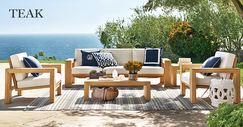 Teak outdoor furniture to decorate your   outdoor
