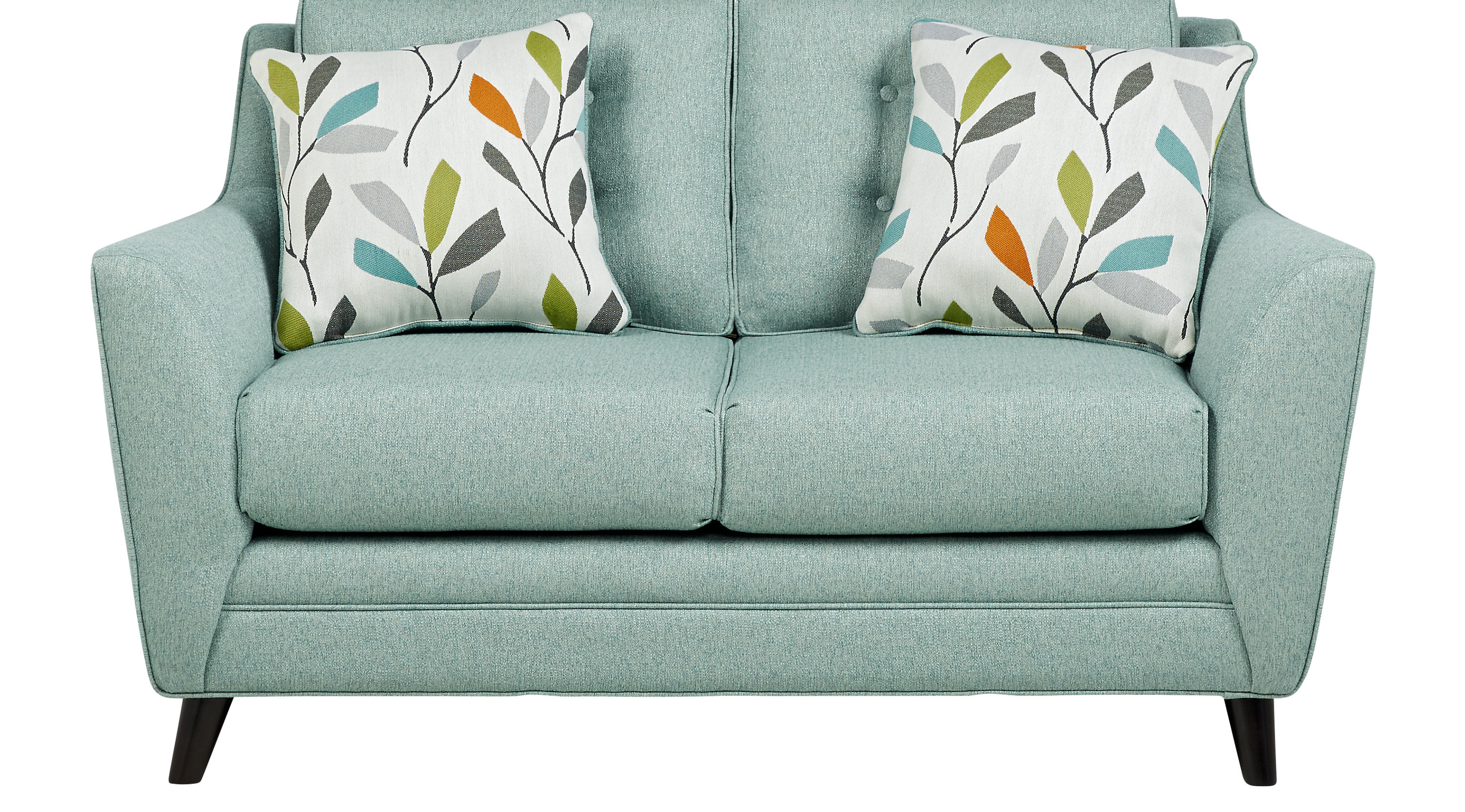 $458.00 - Cobble Heights Teal Loveseat - Classic - Contemporary