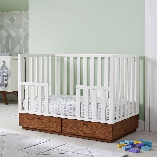 Modern Toddler Bed Conversion Kit | west elm