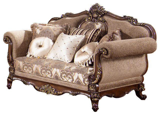 Winfrey Traditional Loveseat - Victorian - Loveseats - by Furniture