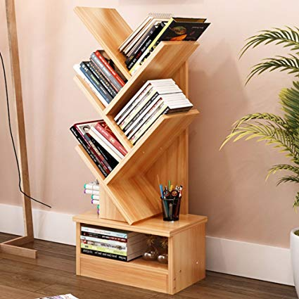 Amazon.com: Magshion Tree Bookshelf Compact Book Rack Bookcase