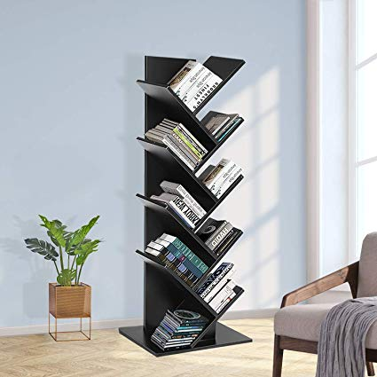 Amazon.com: JOO LIFE 9 Shelf Tree Bookshelf Book Rack Bookcase