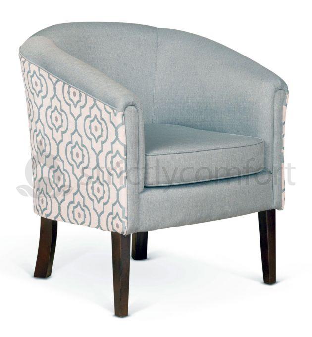 Tub Chair   Fabric Tub Chair   Comfortable Chair   Occasional Armchair