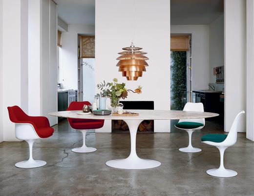 Saarinen Dining Table - Oval   Knoll