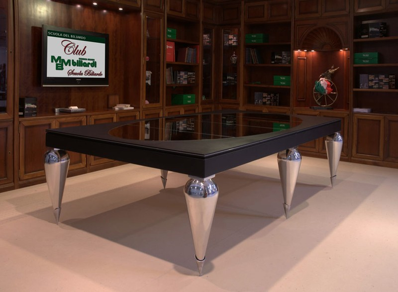 Unique Dining Table that Can Become Billiard Table u2013 Cabochon Table