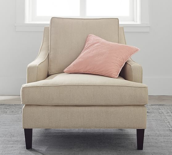 Landon Upholstered Armchair | Pottery Barn