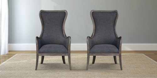 Bentwood Upholstered Armchair - James+James Furniture | Springdale