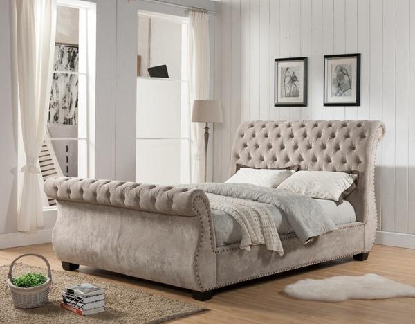 King Upholstered Bed u2013 Cardi's Furniture & Mattresses