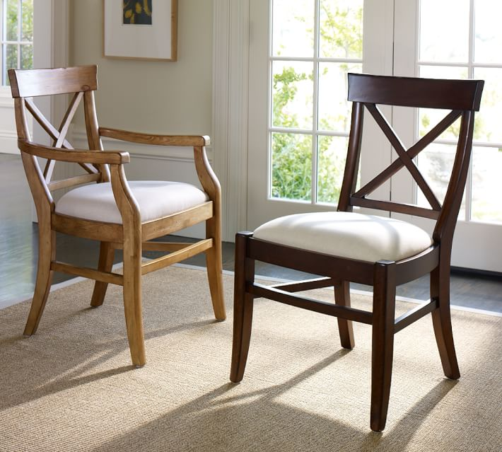 Aaron Upholstered Chair | Pottery Barn