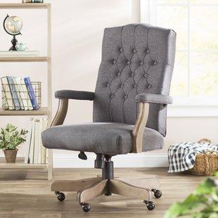 Fabric Office Chairs You'll Love | Wayfair