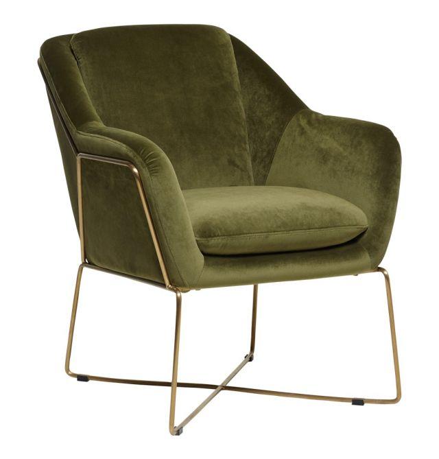 Carmen Velvet Armchair