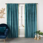 The Beautiful Velvet Curtains