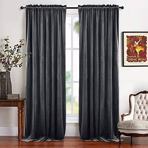 Velvet Curtains: Amazon.com