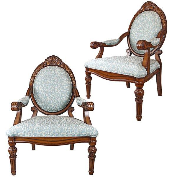Design Toscano Victorian Armchair | Wayfair