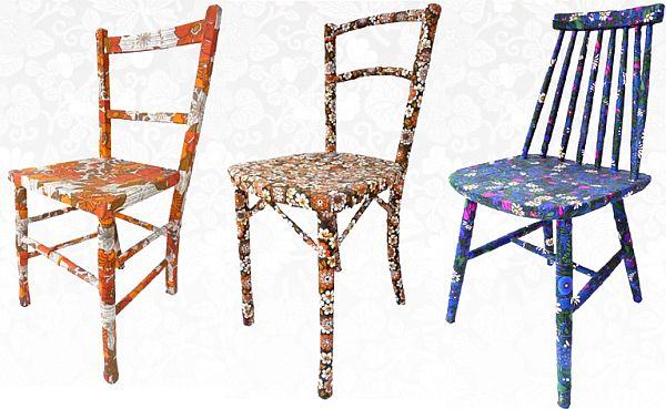 Unique vintage chairs by Mel