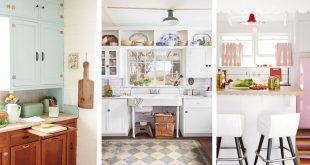 20 Vintage Kitchen Decorating Ideas - Design Inspiration for Retro