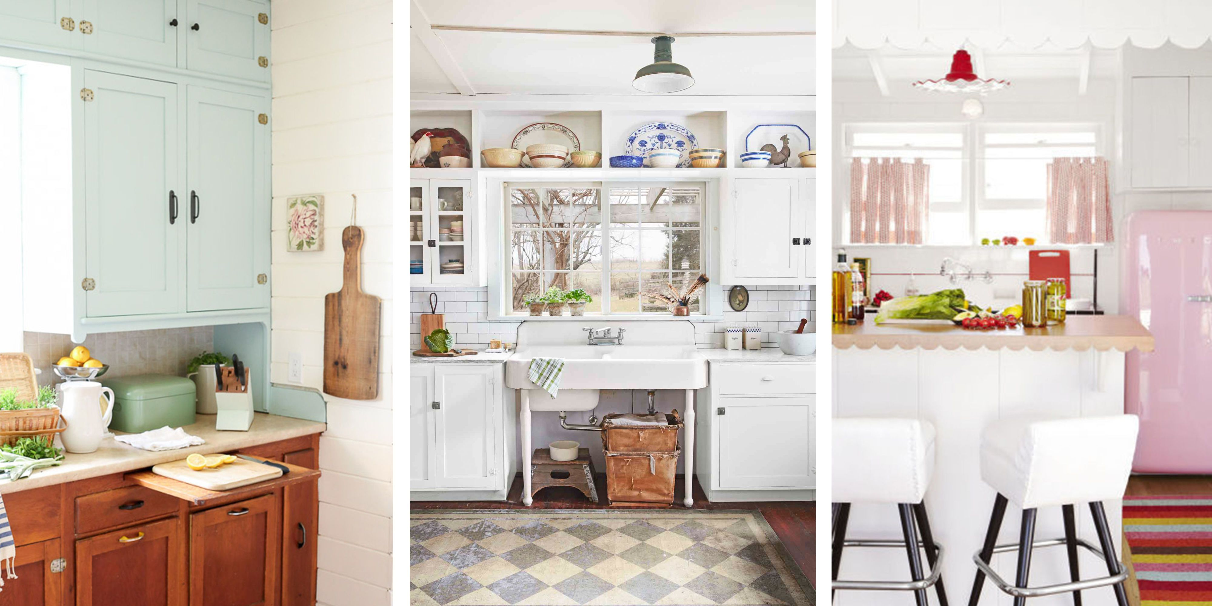 Vintage Kitchen: Artistic And Beautiful