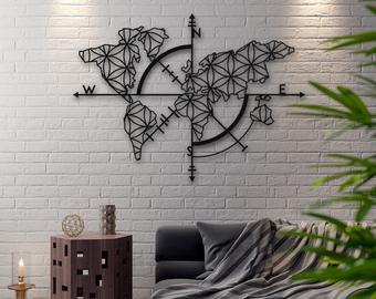 Metal wall decor   Etsy