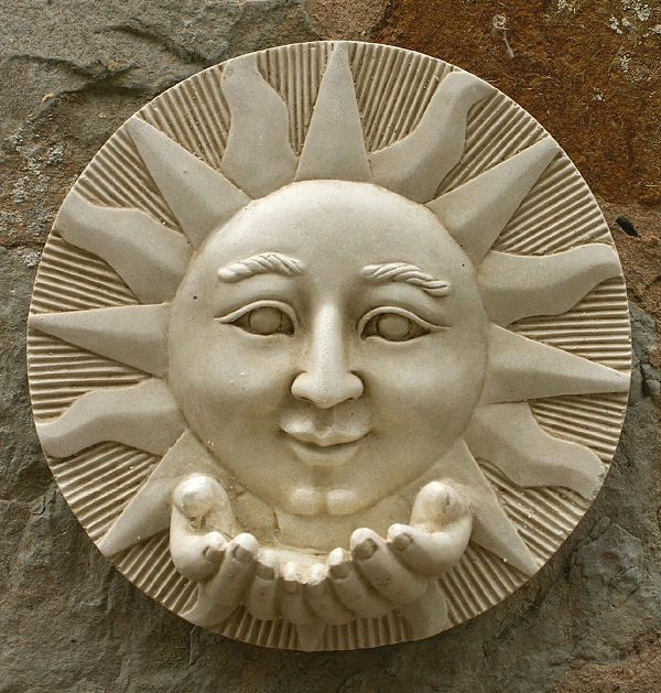 Garden Wall Plaques - Sun & Moon Wall Plaques Find Sun Wall Plaque