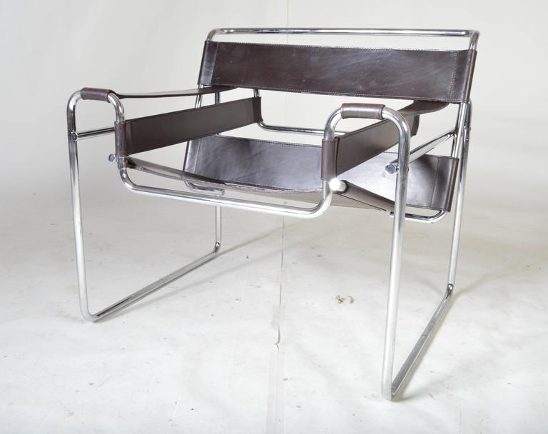 Vintage 1960s Wassily Chair by Marcel Breuer for Gavina Italy at 1stdibs