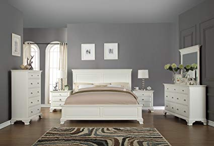 Amazon.com: Roundhill Furniture B012KDMN2C Bedroom Furniture Bed