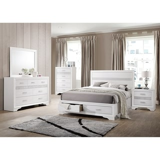 Essentials of White Bedrooms set