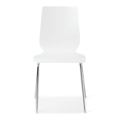Bent Plywood Stacking Chair White - Room Essentials™ : Target