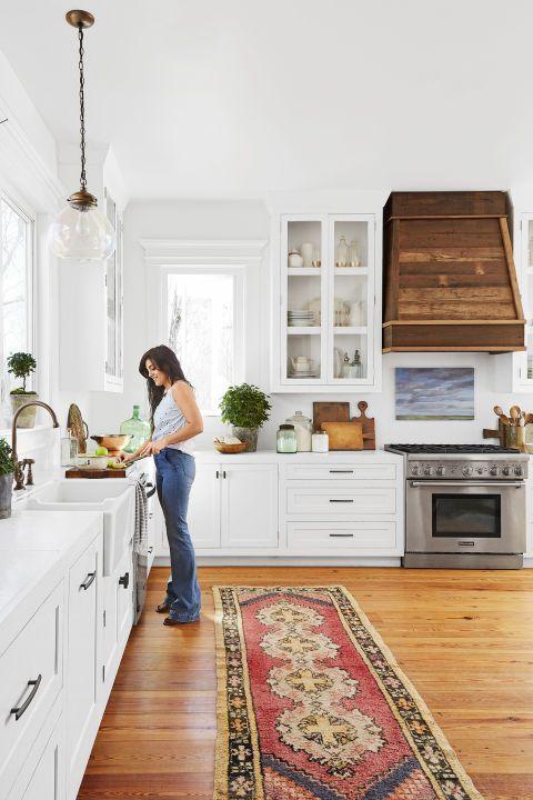 24 Best White Kitchens - Pictures of White Kitchen Design Ideas