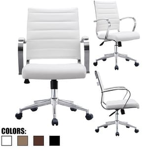 Buy White, Leather Office & Conference Room Chairs Online at
