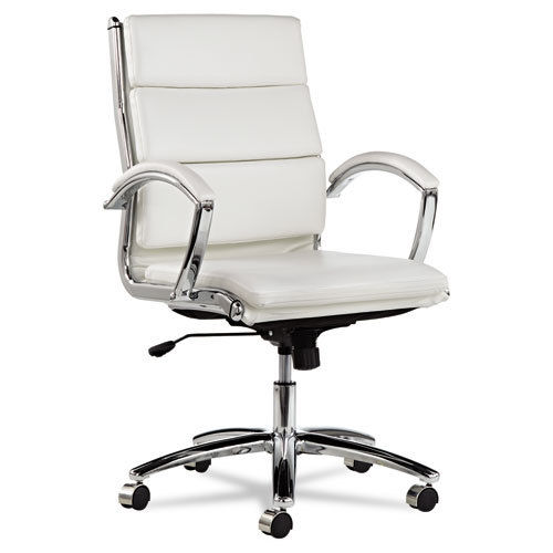 White Leather Office Chair | Office Chair