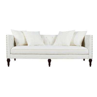 White - Sofas & Loveseats - Living Room Furniture - The Home Depot