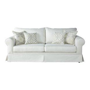 White Victorian Couch | Wayfair