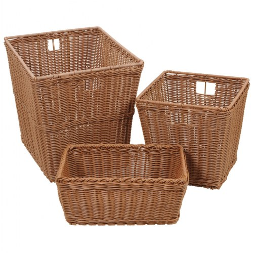 Plastic Wicker Baskets