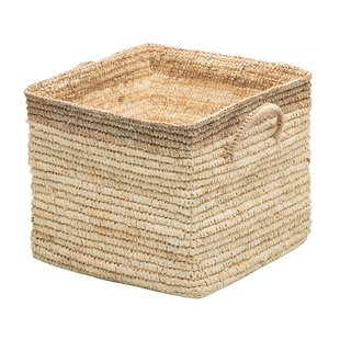 Square Wicker Storage Baskets | Wayfair