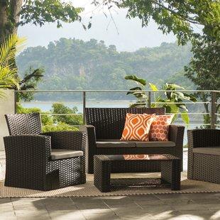Wicker Patio Furniture You'll Love | Wayfair