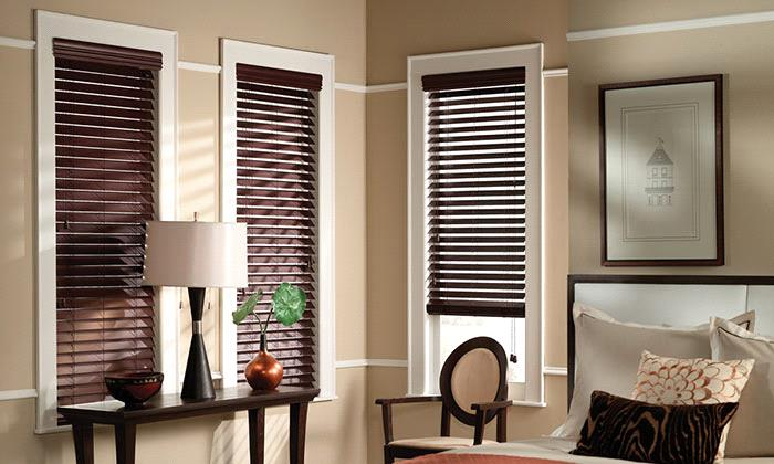 Steve's Exclusive Collection - Faux Wood Blinds - Budget 2